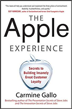 The Apple Experience by Carmine Gallo both