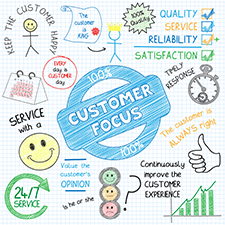 Customer centric Customer Service small
