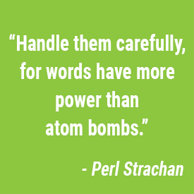 words have power both