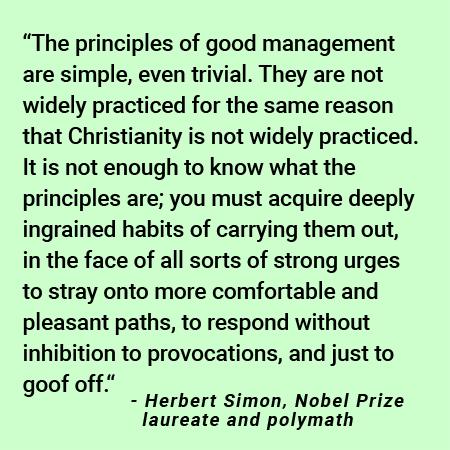 Herbert Simon quote